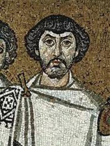 Byzantines  battle Vandals