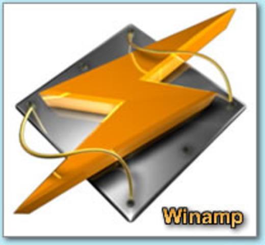 El reproductor de multimedia Winamp