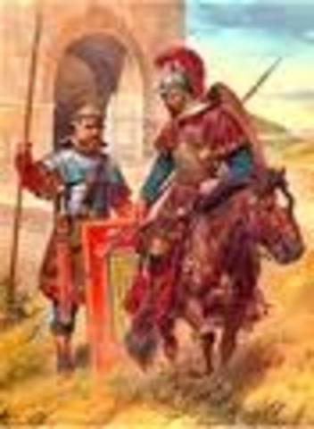Turks Defeat the Byzantines