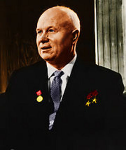 Chruschtschow oberster Sowjet