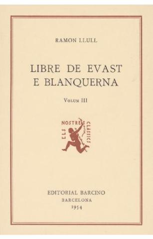 Llibre d'Evast e Blanquerna