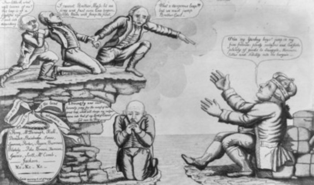Hartford Convention meets during War of 1812 (begins)