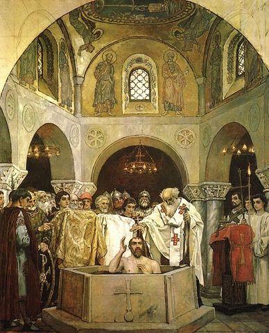 Vladimir's Conversion to Christianity