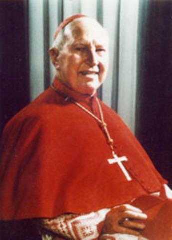 Archbishop Gilroy becomes first Australian Cardinal.