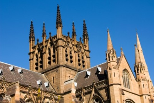 St Mary's Cathedral Sydney completed.