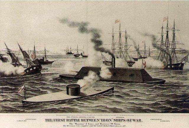 Battle of iron clads