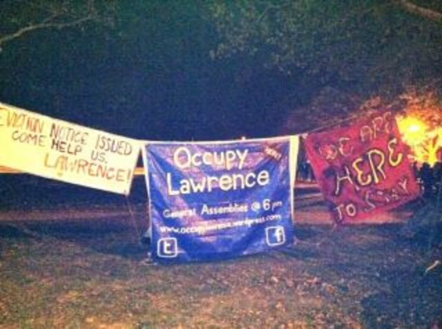 Occupy Lawrence Camps in South Park