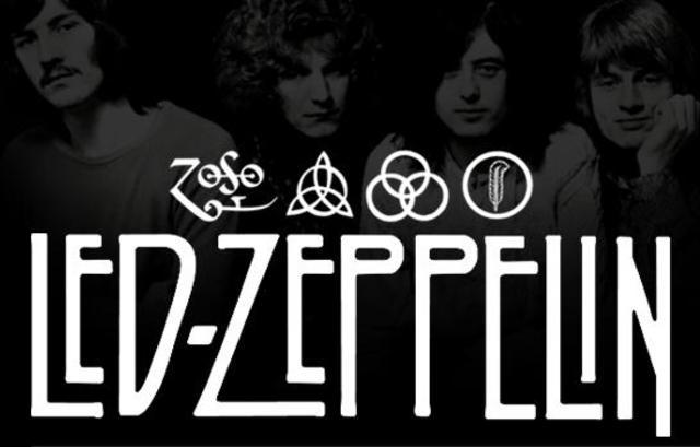 El álbum «Led Zeppelin», grabado en Olympic Studios (Londres).