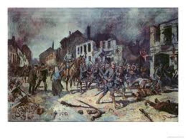 Battle of Tannenburg starts