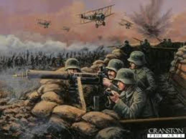 Battle of Amiens starts