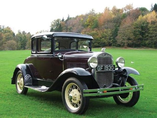 second (gen) ford car the model a