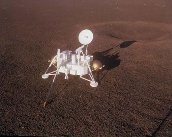 First U.S Mars Landing