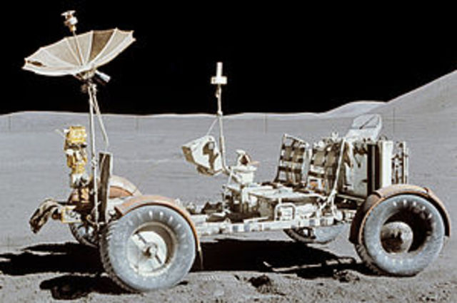 First Moon Rover