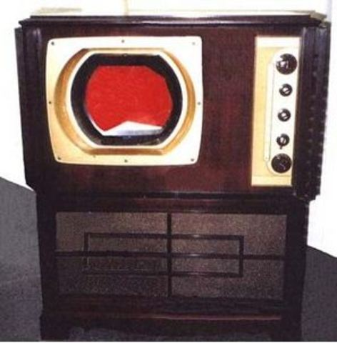 First  Elctronic Color Tv