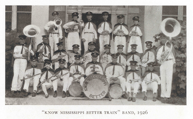 """""""Get To Know Mississippi Better Train"""" Band"""