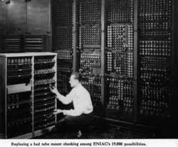 The ENIAC Computer is finished