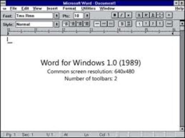 Microsoft introduces Word