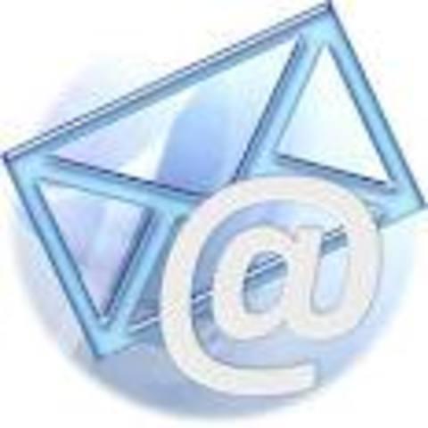 Mi primera cuenta de correo electrónico.