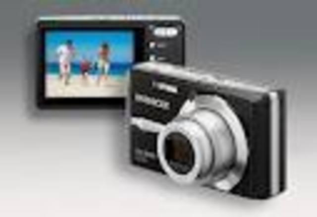 Cámara de fotos digital.