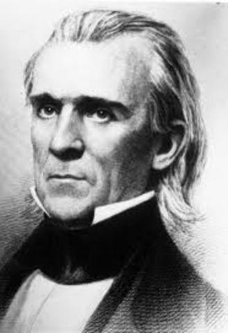 James Polk elected