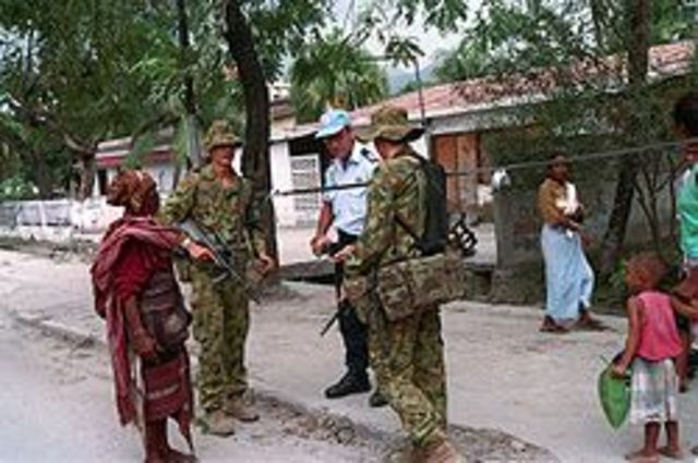 Peacekeeping in East Timor