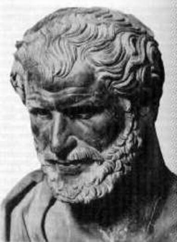 440BCE- Democritus