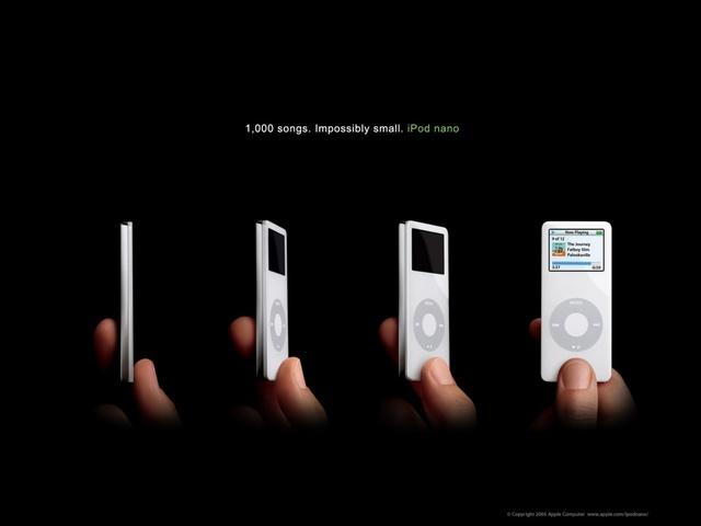 The evolving ipod