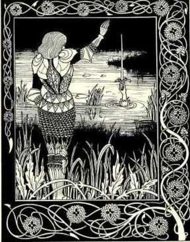 """Cuarta etapa: El libro """"La Muerte de Arturo"""", de Sir Thomas Malory"""