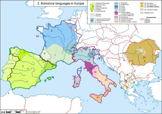 Naixement de les llengües romàniques