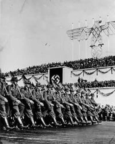 Hitler introduced conscription