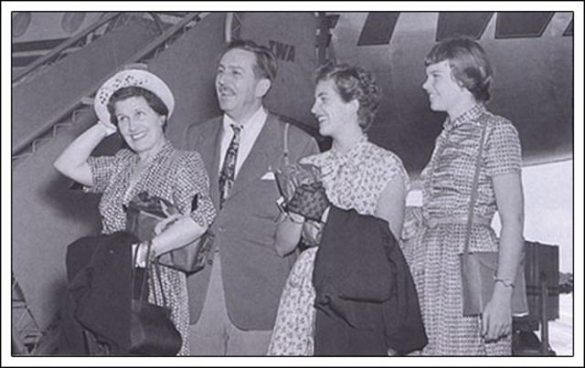 Walt Disney's Family