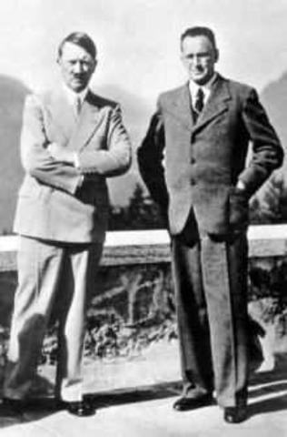 Hitler met Henlein