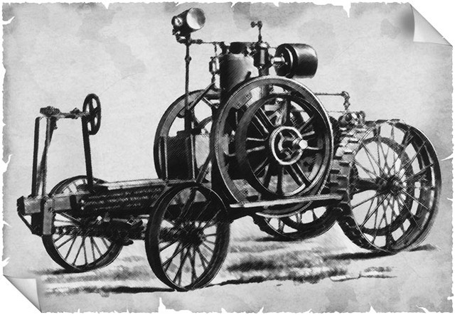 The Froelich Tractor