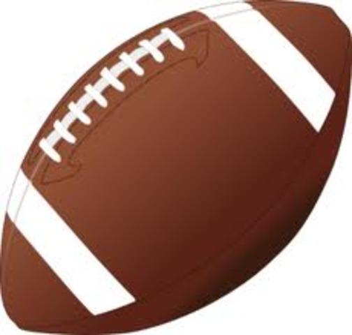 Started football.