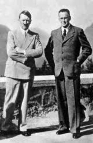 Hitler meets Henlein
