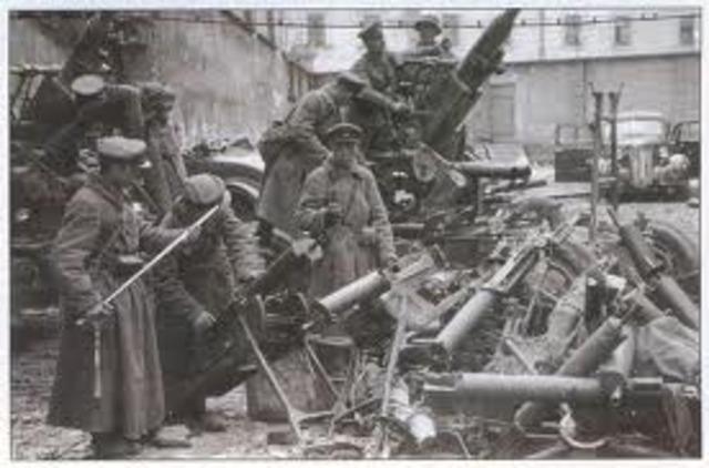 Soviets invade Poland.