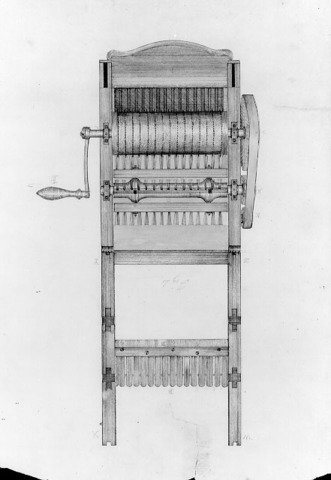 Cotton Gin invented by Eli Whitney