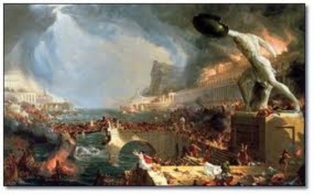 Library of Alexandria burned- 48 BCE