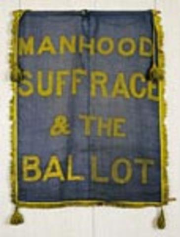 Start of Universal Manhood Suffrage Spread