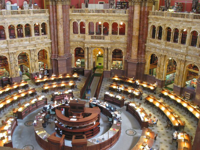 Library Of Congress Founded