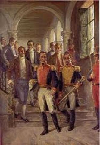 Simón Bolívar en Cúcuta.
