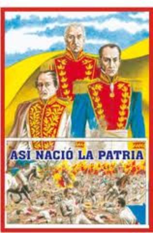 Cundinamarca declara su independencia