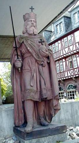 Carlemany coronat emperador d'Occident