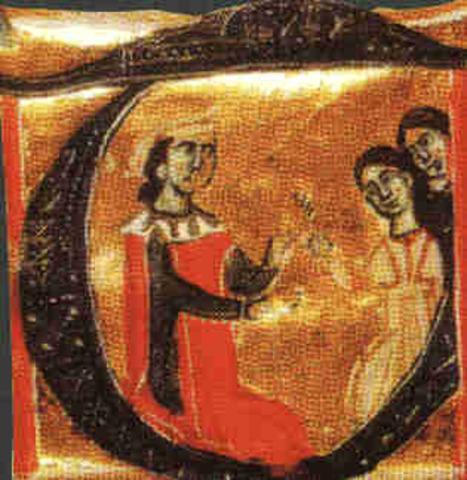 Naixement del trobador Guillem de Berguedà