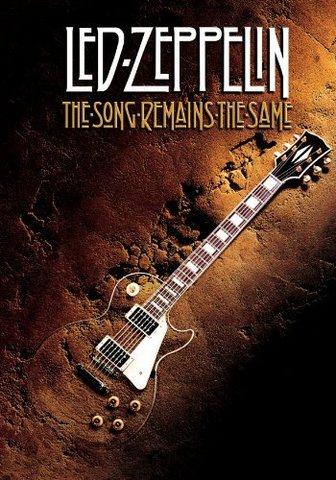 Estreno mundial de la película de Led Zeppelin, «The Song Remains The Same».