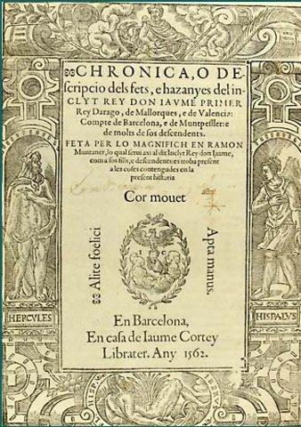 Cronica de Ramon Muntaner