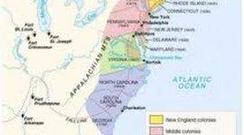 Growth of the Thirteen Colonies (Burditt/Ellsworth) timeline