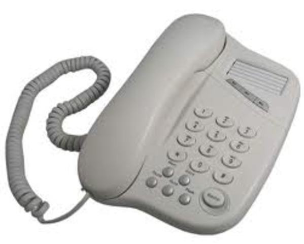 TELÉFONO FIJO CON BOTONERA