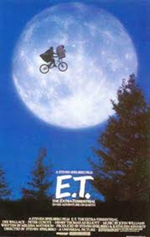 made e.t after makeing meny other movies but this got a award