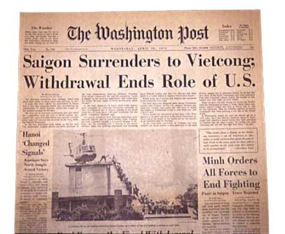 Vietnam War Ends